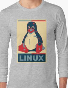 Linux Tux Long Sleeve T-Shirt