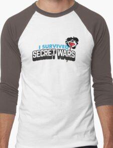 I SURVIVED SECRET WARS Men's Baseball ¾ T-Shirt