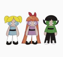 The Powerpuff Girls! Baby Tee