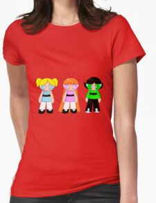 The Powerpuff Girls! Womens Fitted T-Shirt