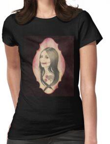 Kuchisake-Onna Womens Fitted T-Shirt