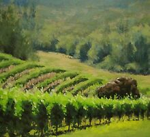 Abacela Vineyard by Karen Ilari