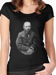 Fyodor Dostoevsky Women's Fitted Scoop T-Shirt