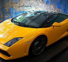 2011 Lamborghini Gallardo LP560-4 Bicolore-2 by Stuart Row