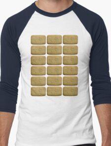 Nice Biscuits Men's Baseball ¾ T-Shirt