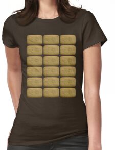 Nice Biscuits Womens Fitted T-Shirt