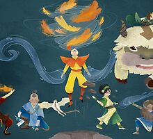 Team Avatar! by txrquoiseocean
