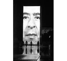 Crown Fountain Photographic Print