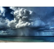 An Esperance Storm Approaching Photographic Print