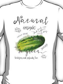 Watercolor cucumber T-Shirt
