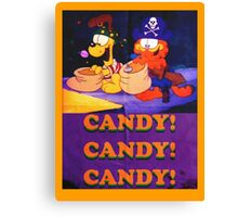 Candy! Candy! Candy! Canvas Print