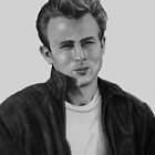 Rebel without a cause (James Dean) by Chris-Cox
