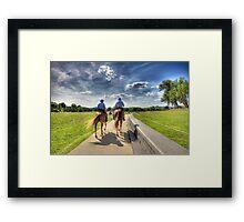 Po - Po Patrolling Framed Print