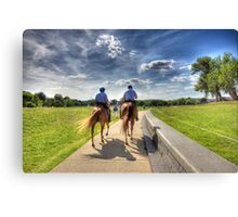 Po - Po Patrolling Canvas Print