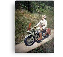 ~Motorcycle Joe~ Metal Print