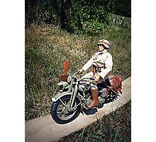 ~Motorcycle Joe~ Photographic Print
