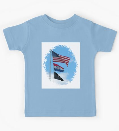 Iron County Flags Kids Tee