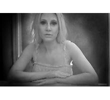 I am waiting Photographic Print