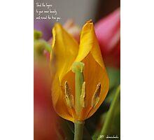 Inner beauty. Photographic Print