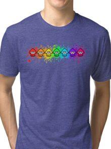 Splatterhouse - RAINBOW INK Tri-blend T-Shirt