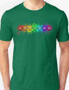 Splatterhouse - RAINBOW INK Unisex T-Shirt