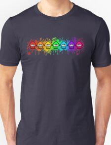 Splatterhouse - RAINBOW INK Unisex T-Shirt