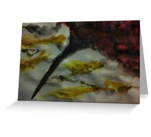 Funnel Cloud!!  Natural Disaster Series, watercolor Greeting Card