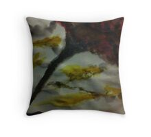 Funnel Cloud!!  Natural Disaster Series, watercolor Throw Pillow
