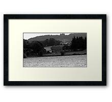 Farmhouse in Aberdeen Framed Print
