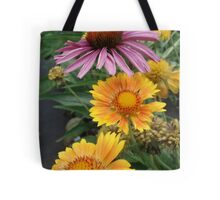 Coneflower and Indian Blankets Tote Bag