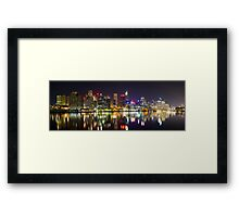 The West Side Framed Print