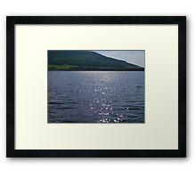 Dove Stone's Framed Print