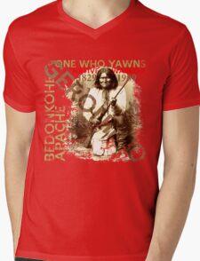 GERONIMO Mens V-Neck T-Shirt
