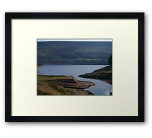 A view from the top Framed Print