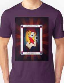 Dc's Harley Quinn playing Card T-Shirt