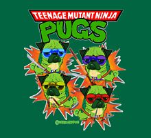 Teenage Mutant Ninja Pugs Unisex T-Shirt