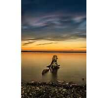 Hibou Sunset 1 Photographic Print