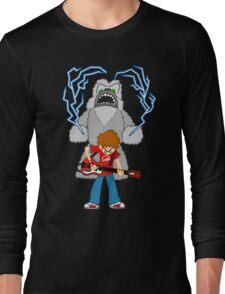 Scott Pilgrim - The Sex Bob-Omb Yeti Long Sleeve T-Shirt