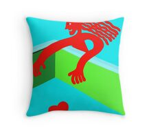 I will kidnap to the love 8 Throw Pillow