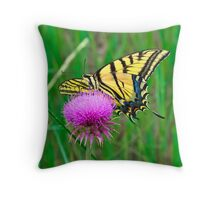 Afternoon Nectar Snack Throw Pillow
