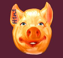 H1N1 Human Pig Mask Unisex T-Shirt