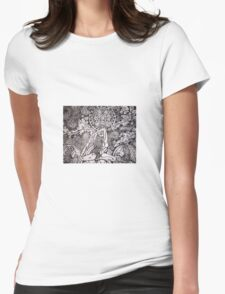 Raja kapotasana Womens Fitted T-Shirt