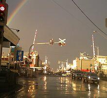 Train station rainbow by StefanoB