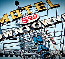 5 Dollar Motel - Route 66, Flagstaff Arizona by intrinsicvalue