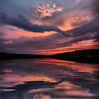 Lake Sunset by Rick  Friedle