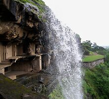 Ellora Waterfall by Katie Pye