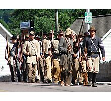 Civil War reenactment at Wise, VA Photographic Print
