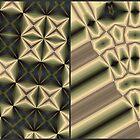 sepia pattern II by leapdaybride