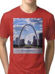 St. Louis Missouri Tri-blend T-Shirt