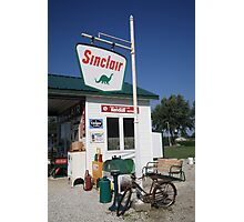 Route 66 - Sinclair Station Photographic Print